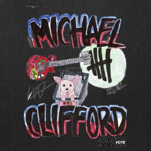 Michael Clifford Guitar & Southy print TRANSPARENT - Tote Bag