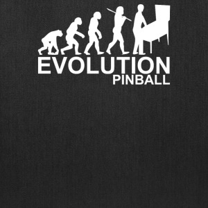 Evolution Of Man From Ape To Pinball - Tote Bag