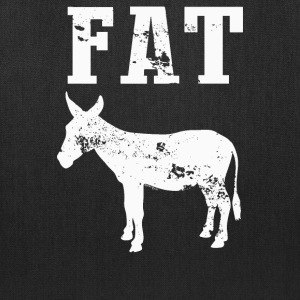 Fat Ass Donkey funny - Tote Bag