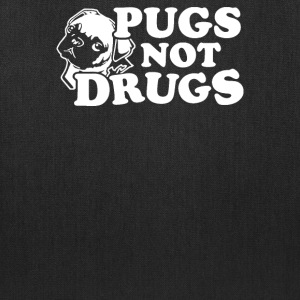 Pugs Not Drugs - Tote Bag