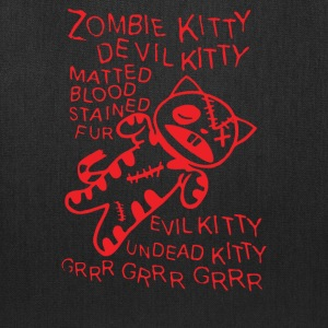 Zombie Soft Kitty - Tote Bag