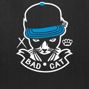 Bad Cat Geddo Cat - Tote Bag