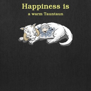 Happiness a warm tauntaun - Tote Bag