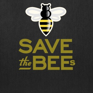Save The Bees Beekeeper Quote Design - Tote Bag