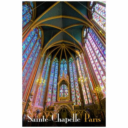 Vintage Sainte-Chapelle Travel Poster - Tote Bag