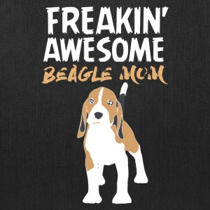 Awesome Beagle Mom Shirt - Tote Bag