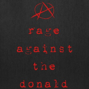 rage against the donald - Tote Bag