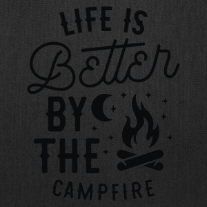 Life is Better By the Camp Fire - Tote Bag
