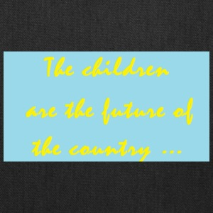 slogan about children - Tote Bag