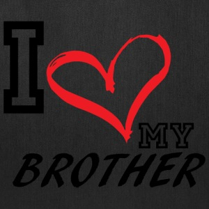I_LOVE_MY_BROTHER - Tote Bag