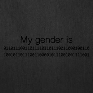 My Gender Is (nonbinary) In Binary - Tote Bag