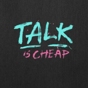 talk - Tote Bag