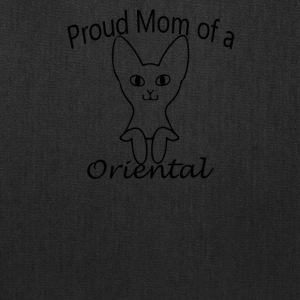 Proud Mom of a Oriental Cat - Tote Bag
