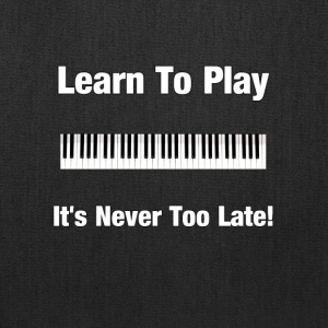 Learn Piano - Tote Bag