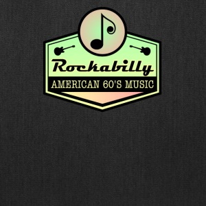American Rockabilly 60' Music - Tote Bag