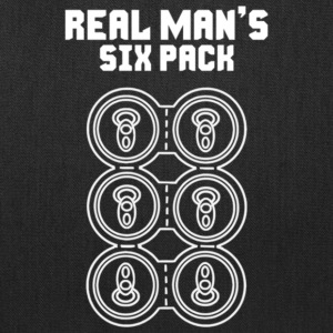Real Man s Six Pack - Tote Bag
