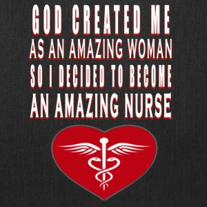Amazing Nurse - Tote Bag
