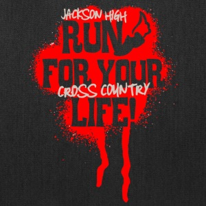 Jackson High Run For Your Life Cross Country - Tote Bag