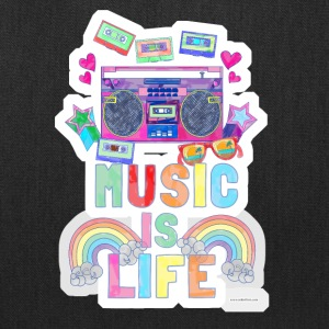 Music Is Life - Tote Bag
