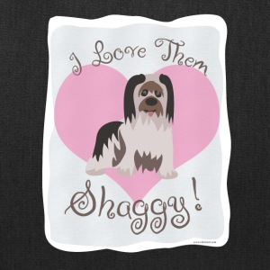 I Love Shaggy Dogs - Tote Bag