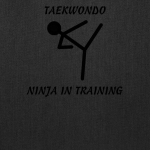 Taekwondo Ninja in Training - Tote Bag