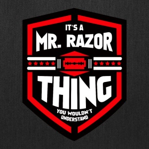 It's a Mr Razor Thing Trini - Tote Bag