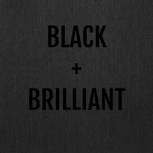 Black + Brilliant - Tote Bag