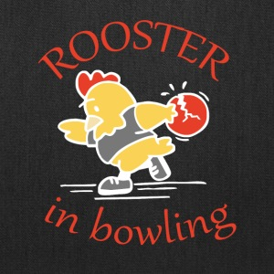 Rooster in Bowling - Tote Bag