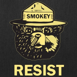 Smokey Says Resist Official - Tote Bag