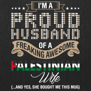 Im A Proud Husband Of A Freaking Awesome Palestini - Tote Bag