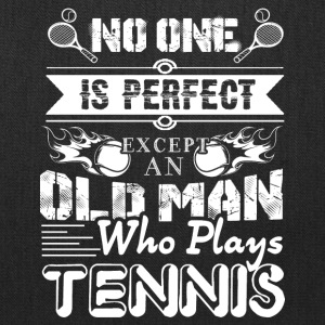 Tennis Old Man Shirt - Tote Bag