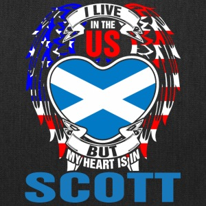 I Live In The Us But My Heart Is In Scott - Tote Bag