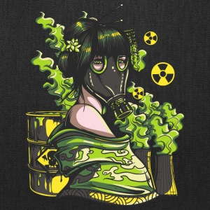 Nuclear Girl With - Tote Bag