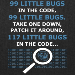 99 Little Bugs in the Code - Tote Bag
