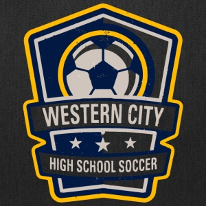 Western City High School Soccer - Tote Bag