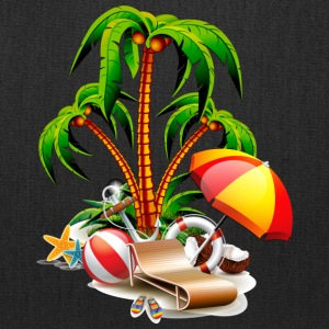 GET READY TO SUMMER - COCONUT TREE REST - Tote Bag
