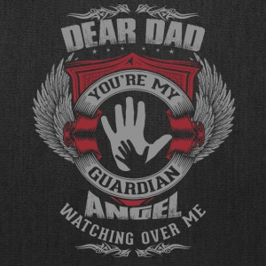 Dear Dad, You're My Guardian Angel - Tote Bag
