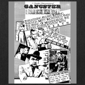 Gangster Genre - by Fanitsa Petrou - Tote Bag