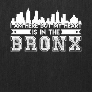 My Heart In The Bronx Shirt - Tote Bag