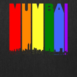 Mumbai India Skyline Rainbow LGBT Gay Pride - Tote Bag
