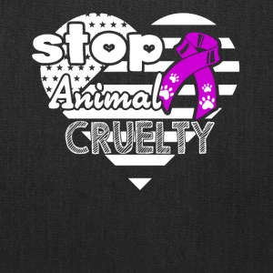 Animal Cruelty Awareness Shirt - Tote Bag