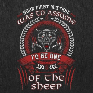 I'd Be One Of The Sheep Wolf Of Odin T-Shirt - Tote Bag