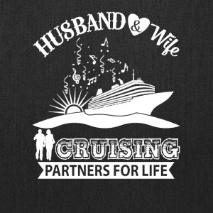 Husband And Wife Cruising Partners For Life TShirt - Tote Bag