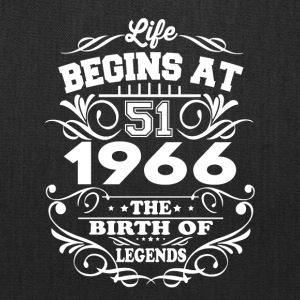 1966 The Birth Of Legends T-Shirt - Tote Bag