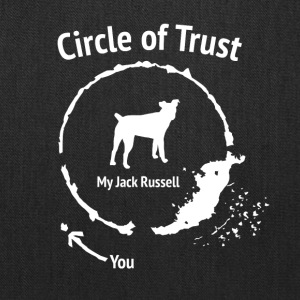 Funny Jack Russel shirt - Circle of Trust - Tote Bag