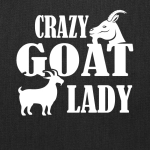 Crazy Goat Lady Shirt - Tote Bag