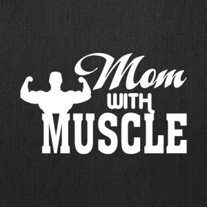 Super Muscle Mom T Shirt - Tote Bag