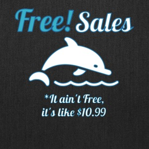 Free Sales Dolphin T Shirt - Tote Bag