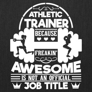 Athletic Trainer Tee Shirt - Tote Bag