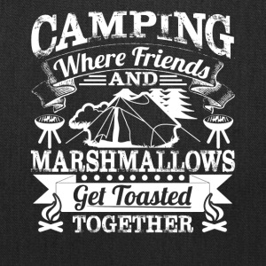 Camping Tee Shirt - Tote Bag
